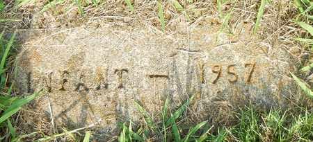 UNKNOWN, INFANT - Crawford County, Arkansas | INFANT UNKNOWN - Arkansas Gravestone Photos