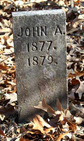 UNKNOWN, JOHN A. - Crawford County, Arkansas | JOHN A. UNKNOWN - Arkansas Gravestone Photos