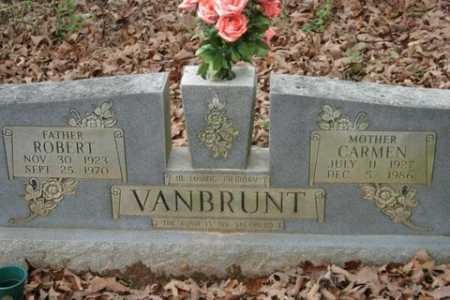 VANBRUNT, ROBERT - Crawford County, Arkansas | ROBERT VANBRUNT - Arkansas Gravestone Photos