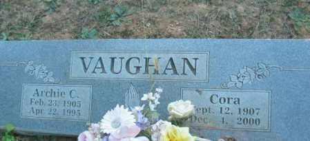 VAUGHAN, ARCHIE C. - Crawford County, Arkansas | ARCHIE C. VAUGHAN - Arkansas Gravestone Photos