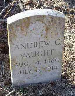 VAUGHT, ANDREW C. - Crawford County, Arkansas | ANDREW C. VAUGHT - Arkansas Gravestone Photos