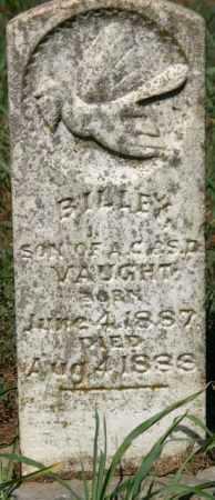 VAUGHT, BILLEY - Crawford County, Arkansas | BILLEY VAUGHT - Arkansas Gravestone Photos