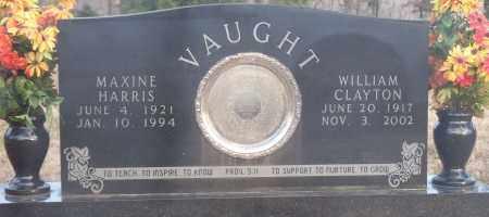 VAUGHT, WILLIAM CLAYTON - Crawford County, Arkansas | WILLIAM CLAYTON VAUGHT - Arkansas Gravestone Photos