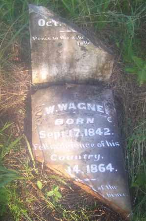 WAGNER (VETERAN), W - Crawford County, Arkansas   W WAGNER (VETERAN) - Arkansas Gravestone Photos