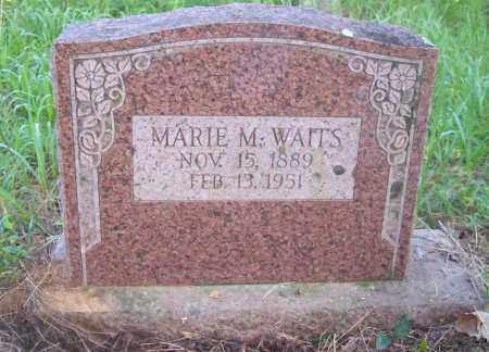 WAITS, MARIE M - Crawford County, Arkansas | MARIE M WAITS - Arkansas Gravestone Photos