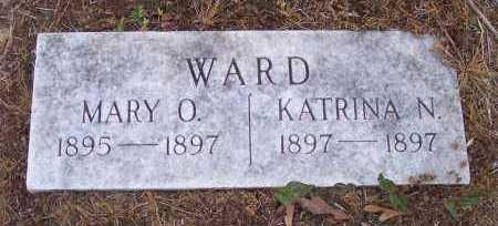 WARD, MARY O - Crawford County, Arkansas | MARY O WARD - Arkansas Gravestone Photos