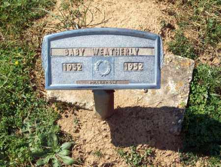 "WEATHERLY, ""BABY"" - Crawford County, Arkansas | ""BABY"" WEATHERLY - Arkansas Gravestone Photos"