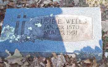 WELLS, SUSIE E. - Crawford County, Arkansas | SUSIE E. WELLS - Arkansas Gravestone Photos