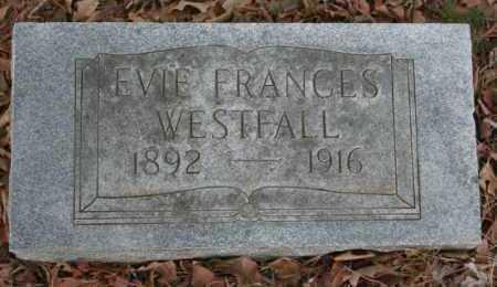WESTFALL, EVIE - Crawford County, Arkansas | EVIE WESTFALL - Arkansas Gravestone Photos