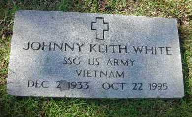 WHITE (VETERAN VIET), JOHNNY KEITH - Crawford County, Arkansas | JOHNNY KEITH WHITE (VETERAN VIET) - Arkansas Gravestone Photos