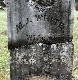 WHITE, M J - Crawford County, Arkansas | M J WHITE - Arkansas Gravestone Photos