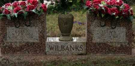 WILBANKS, CARL F - Crawford County, Arkansas | CARL F WILBANKS - Arkansas Gravestone Photos
