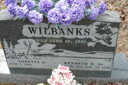 WILBANKS, KENNETH D - Crawford County, Arkansas | KENNETH D WILBANKS - Arkansas Gravestone Photos