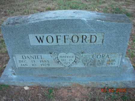 WOFFORD, CORA - Crawford County, Arkansas   CORA WOFFORD - Arkansas Gravestone Photos