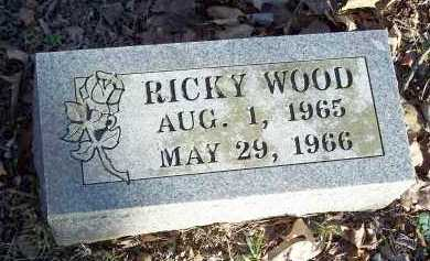 WOOD, RICKY - Crawford County, Arkansas | RICKY WOOD - Arkansas Gravestone Photos