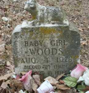 WOODS, BABY GIRL - Crawford County, Arkansas | BABY GIRL WOODS - Arkansas Gravestone Photos