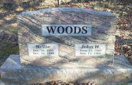 WOODS, NELLIE - Crawford County, Arkansas   NELLIE WOODS - Arkansas Gravestone Photos