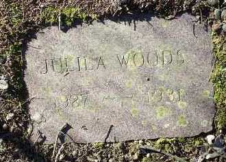 WOODS, JULILA - Crawford County, Arkansas | JULILA WOODS - Arkansas Gravestone Photos
