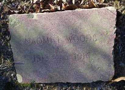 WOODS, NAOMI L. - Crawford County, Arkansas | NAOMI L. WOODS - Arkansas Gravestone Photos