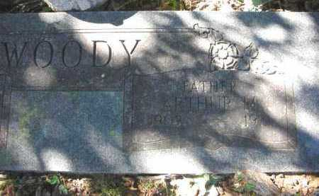 WOODY, ARTHUR M. - Crawford County, Arkansas | ARTHUR M. WOODY - Arkansas Gravestone Photos
