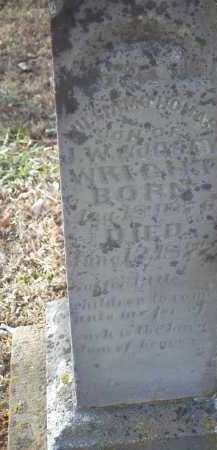 WRIGHT, WILLIAM THOMAS - Crawford County, Arkansas | WILLIAM THOMAS WRIGHT - Arkansas Gravestone Photos
