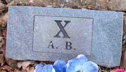 X, A.B. - Crawford County, Arkansas   A.B. X - Arkansas Gravestone Photos