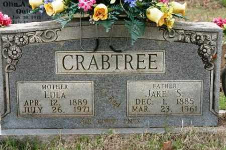 CRABTREE, JAKE S - Crawford County, Arkansas | JAKE S CRABTREE - Arkansas Gravestone Photos