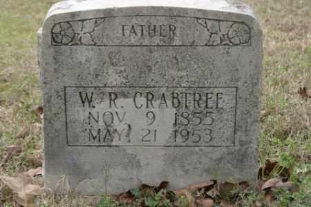 CRABTREE, WILLIAM  RILEY - Crawford County, Arkansas | WILLIAM  RILEY CRABTREE - Arkansas Gravestone Photos