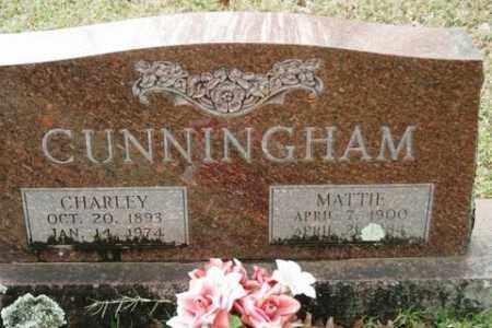 CUNNINGHAM, CHARLEY - Crawford County, Arkansas | CHARLEY CUNNINGHAM - Arkansas Gravestone Photos