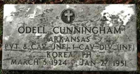 CUNNINGHAM (VETERAN KOR), ODELL - Crawford County, Arkansas   ODELL CUNNINGHAM (VETERAN KOR) - Arkansas Gravestone Photos