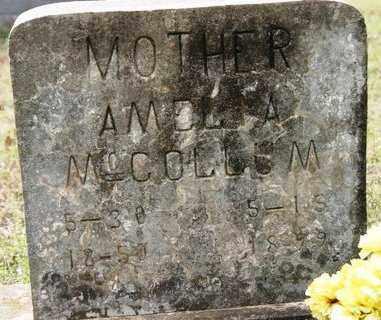 MCCOLLUM, AMELIA - Crawford County, Arkansas | AMELIA MCCOLLUM - Arkansas Gravestone Photos