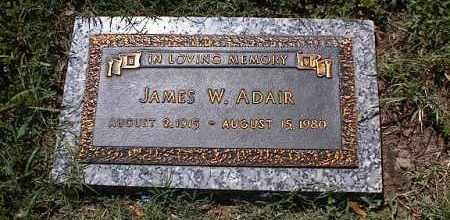 ADAIR, JAMES W - Crittenden County, Arkansas   JAMES W ADAIR - Arkansas Gravestone Photos