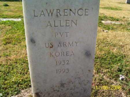 ALLEN (VETERAN KOR), LAWRENCE - Crittenden County, Arkansas | LAWRENCE ALLEN (VETERAN KOR) - Arkansas Gravestone Photos