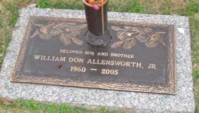 ALLENSWORTH, JR., WILLIAM DON - Crittenden County, Arkansas | WILLIAM DON ALLENSWORTH, JR. - Arkansas Gravestone Photos