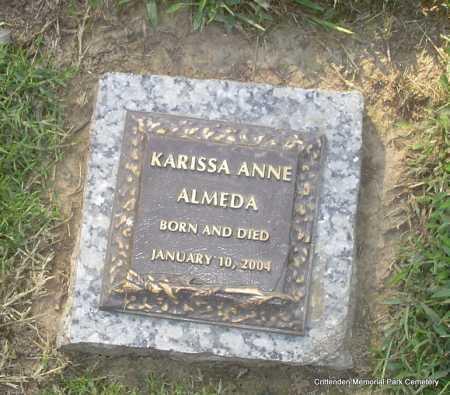 ALMEDA, KARISSA ANNE - Crittenden County, Arkansas | KARISSA ANNE ALMEDA - Arkansas Gravestone Photos