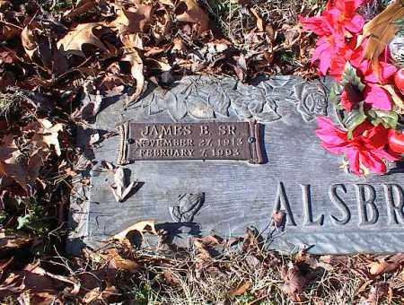 ALSOBROOK, SR., JAMES B - Crittenden County, Arkansas | JAMES B ALSOBROOK, SR. - Arkansas Gravestone Photos