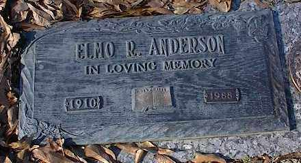 ANDERSON, ELMO R - Crittenden County, Arkansas | ELMO R ANDERSON - Arkansas Gravestone Photos
