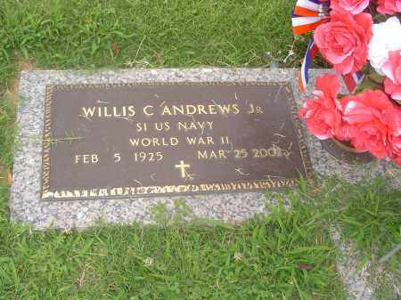ANDREWS, JR. (VETERAN WWII), WILLIS C - Crittenden County, Arkansas | WILLIS C ANDREWS, JR. (VETERAN WWII) - Arkansas Gravestone Photos
