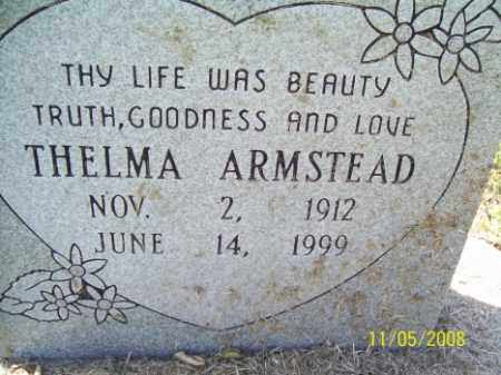 ARMSTEAD, THELMA - Crittenden County, Arkansas | THELMA ARMSTEAD - Arkansas Gravestone Photos