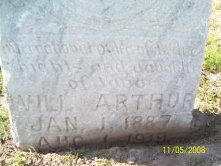 ARTHUR, WILL - Crittenden County, Arkansas | WILL ARTHUR - Arkansas Gravestone Photos