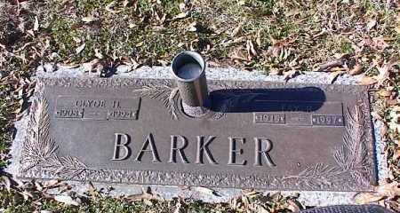 BARKER, CLYDE H - Crittenden County, Arkansas | CLYDE H BARKER - Arkansas Gravestone Photos