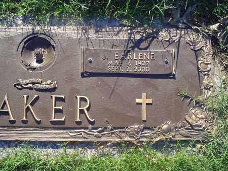 BAKER, J EARLENE - Crittenden County, Arkansas | J EARLENE BAKER - Arkansas Gravestone Photos