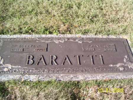 BARATTI, BETTYE N. - Crittenden County, Arkansas | BETTYE N. BARATTI - Arkansas Gravestone Photos