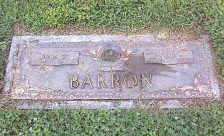 BARRON, JOHN W - Crittenden County, Arkansas | JOHN W BARRON - Arkansas Gravestone Photos