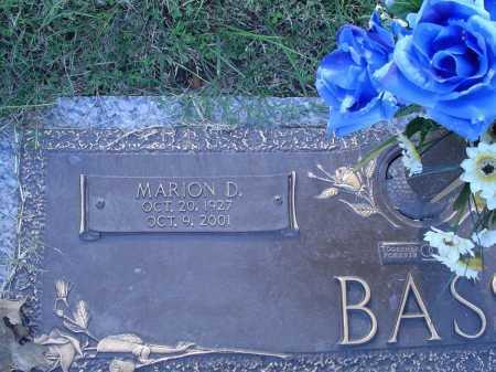 BASS, MARION D - Crittenden County, Arkansas   MARION D BASS - Arkansas Gravestone Photos
