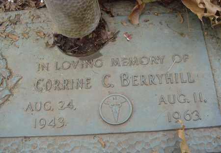 BERRYHILL, CORRINE C - Crittenden County, Arkansas | CORRINE C BERRYHILL - Arkansas Gravestone Photos
