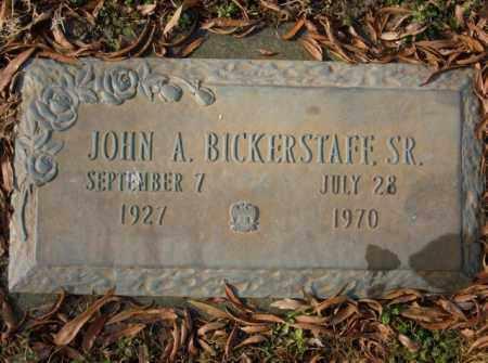 BICKERSTAFF, SR, JOHN A. - Crittenden County, Arkansas | JOHN A. BICKERSTAFF, SR - Arkansas Gravestone Photos