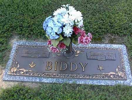 BIDDY, REBECCA M - Crittenden County, Arkansas | REBECCA M BIDDY - Arkansas Gravestone Photos