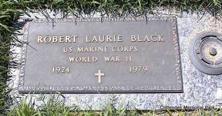 BLACK (VETERAN WWII), ROBERT LAURIE - Crittenden County, Arkansas | ROBERT LAURIE BLACK (VETERAN WWII) - Arkansas Gravestone Photos