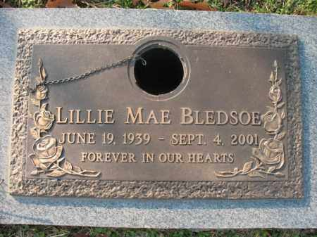 BLEDSOE, LILLIE MAE - Crittenden County, Arkansas | LILLIE MAE BLEDSOE - Arkansas Gravestone Photos